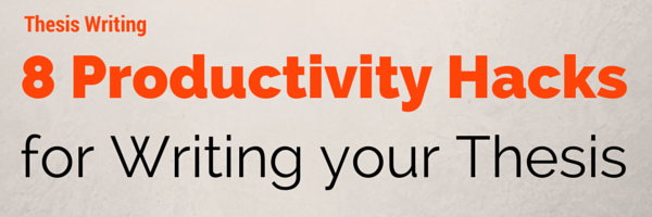 8 productivity hacks