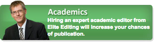 academic editing services button